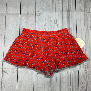 Altar'd State floral print pull on shorts NWT A5